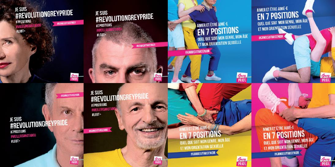 Révolution Senior: une campagne pour changer notre perception des seniors et de leur sexualité