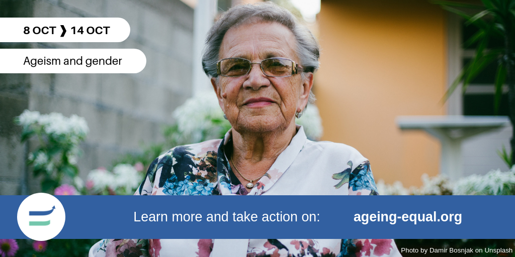 'Older women carry on – as they always do': the 2nd week of the #AgeingEqual campaign in a nutshell