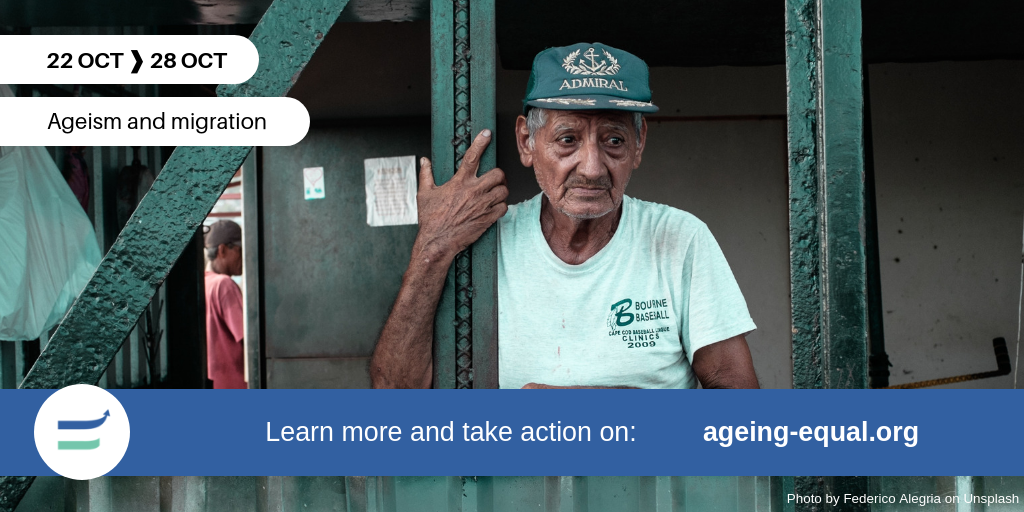 'We are not given any respect and support': the 4th week of the #AgeingEqual campaign in a nutshell