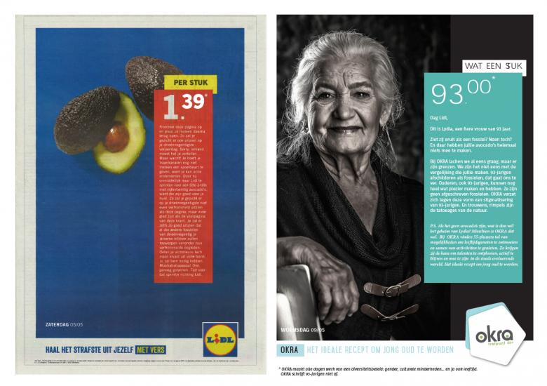 OKRA vs. Lidl about an ageist advocado add