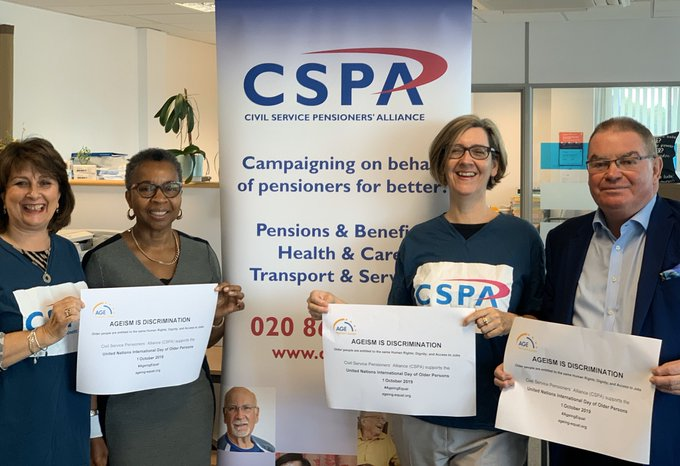 CSPA Team photo for the Older Persons' Day 2019