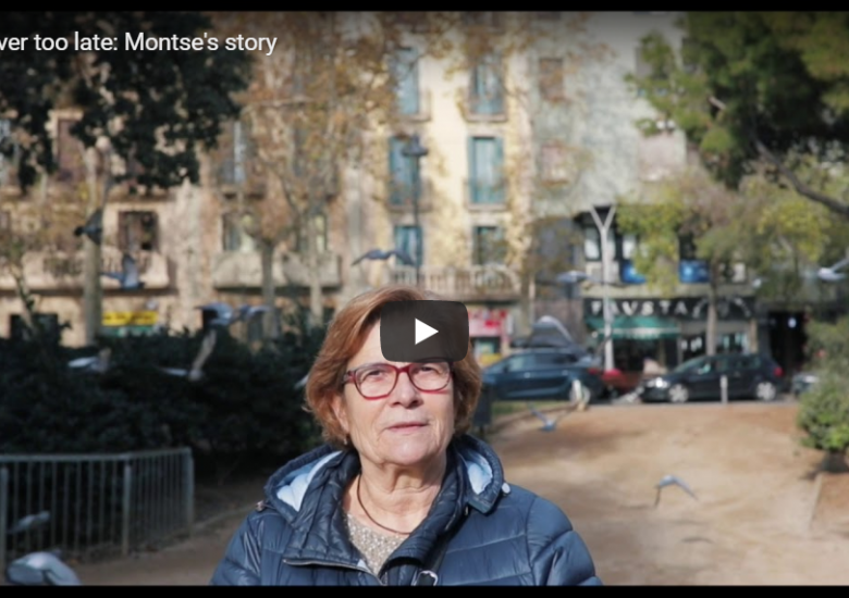 Never Too Late, Montse's story
